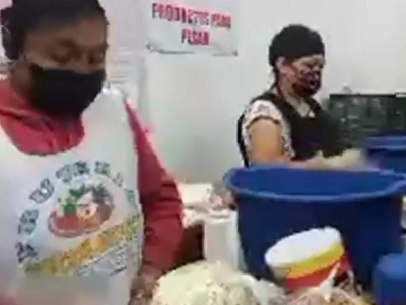 Crece demanda en banco de alimentos , ante pandemia de COVID-19