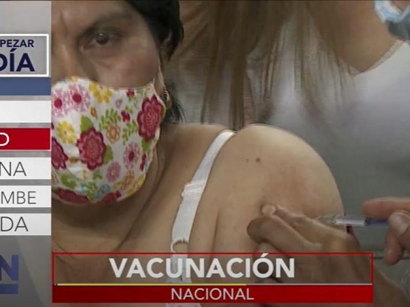 Crece el número de vacunados en México