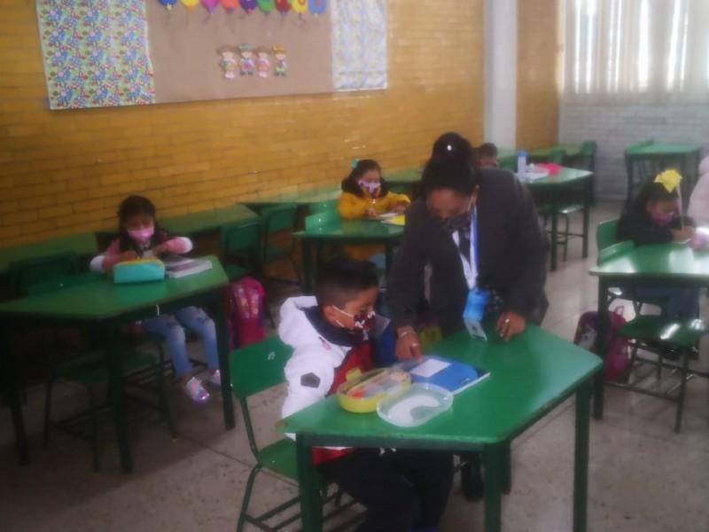 Crece la presencia de estudiantes en escuelas en EdoMex