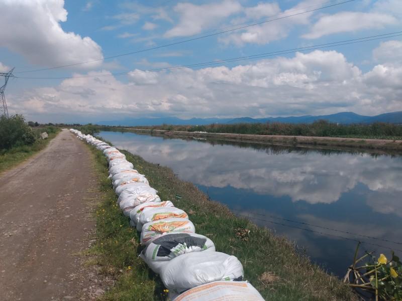 Crece nivel del Río Lerma