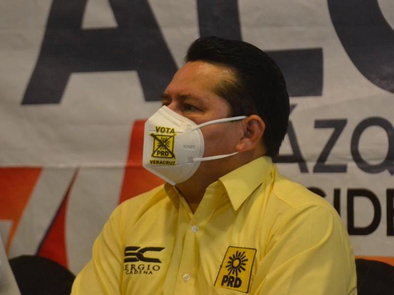 Crecen preferencias a favor del PRD en Veracruz: Sergio Cadena