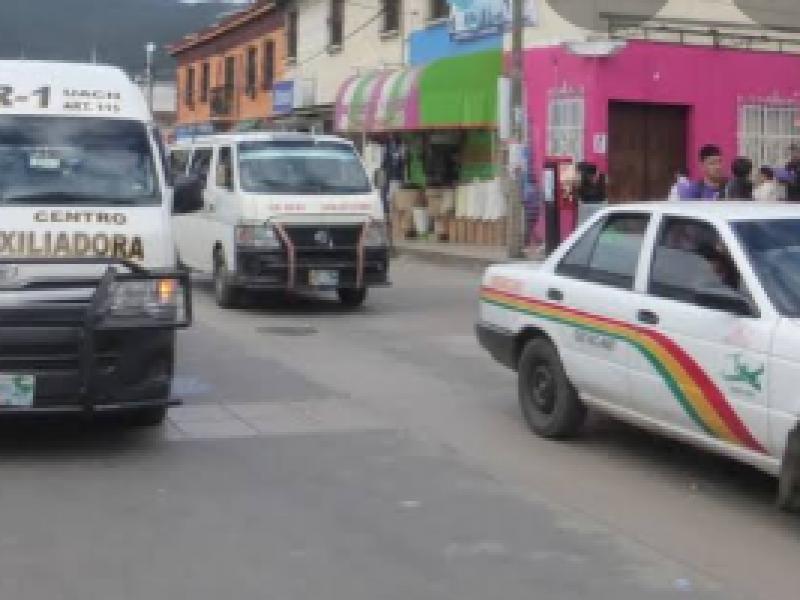 Crecen rutas y unidades piratas en San Cristóbal