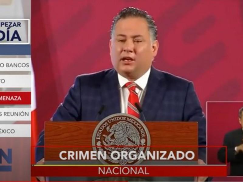 Crimen organizado, el mayor problema: Santiago Nieto