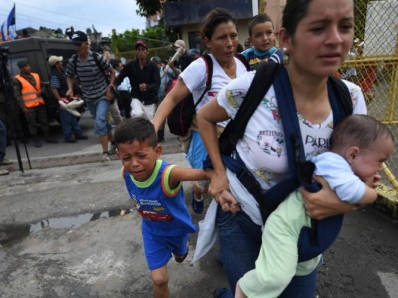 Critican a EPN por frenar Caravana Migrante