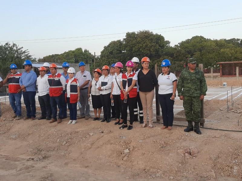 CRM Tehuantepec contará con nuevo edificio; inicia construcción