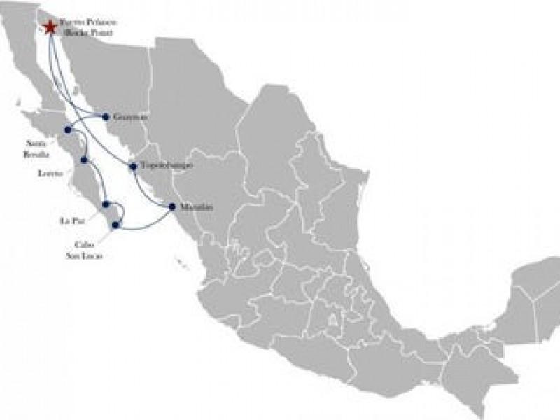 Cruceros recorrerán Mar de Cortez en diciembre