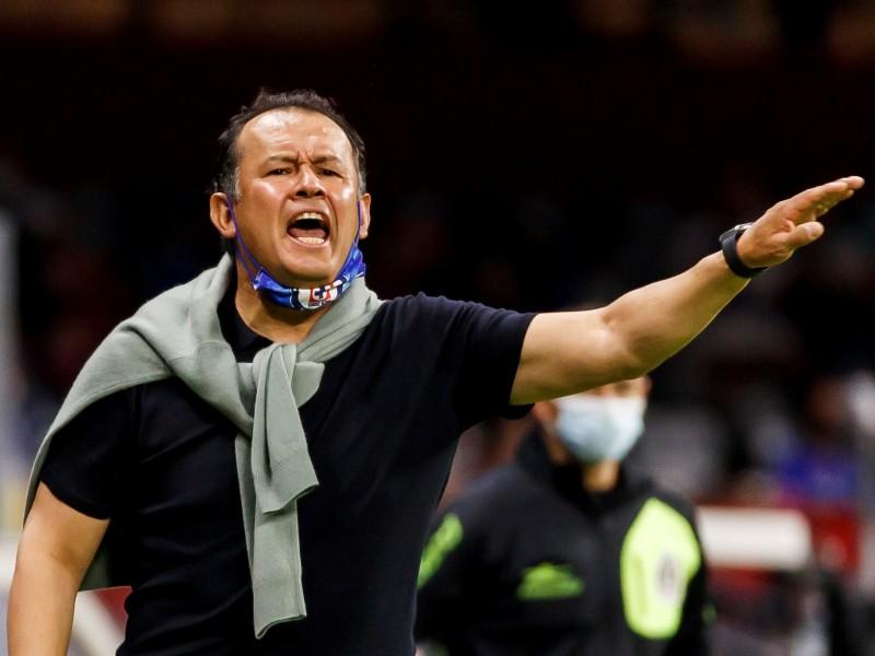 Cruz Azul no está en su mejor nivel: Juan Reynoso
