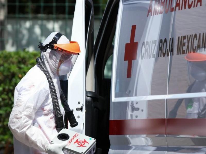 Cruz Roja atendió 458 casos de Covid-19 en julio
