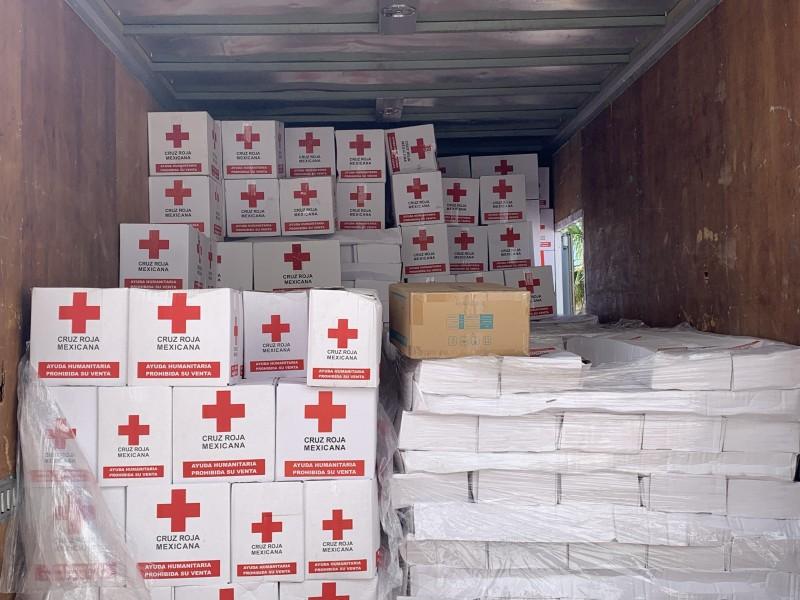 "Cruz Roja brindará apoyo a afectados por ""Olaf"""