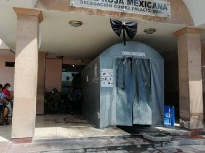 Cruz Roja de Gómez Palacio realiza pruebas de Covid-19