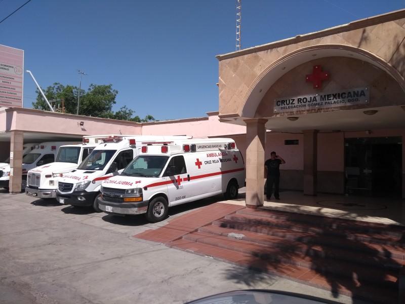 Cruz Roja de Gómez Palacio sin recursos