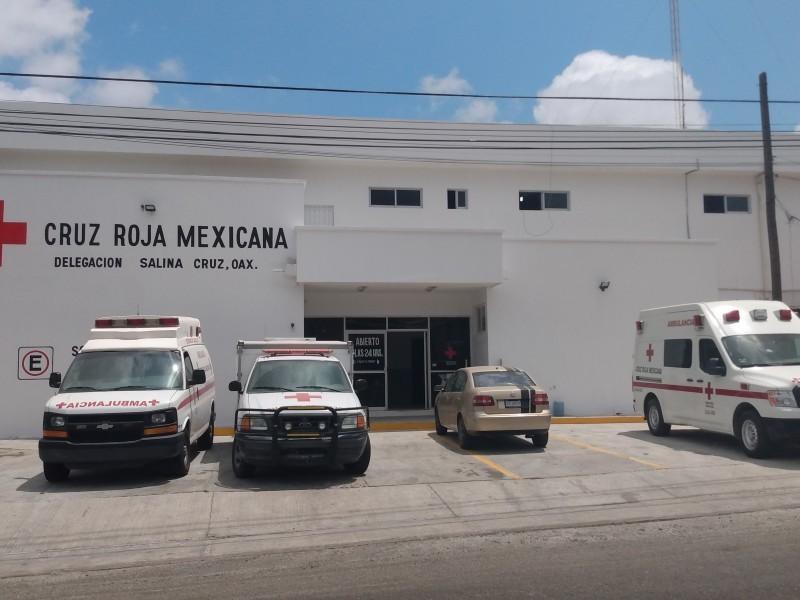 Cruz Roja de Salina Cruz inhabilitada para atender Covid-19