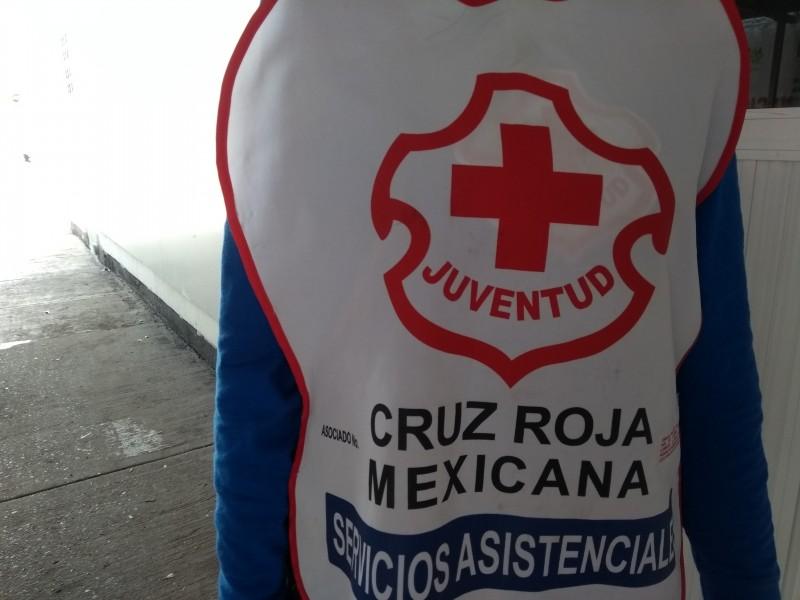 Cruz Roja distribuidora de apoyo a damnificados