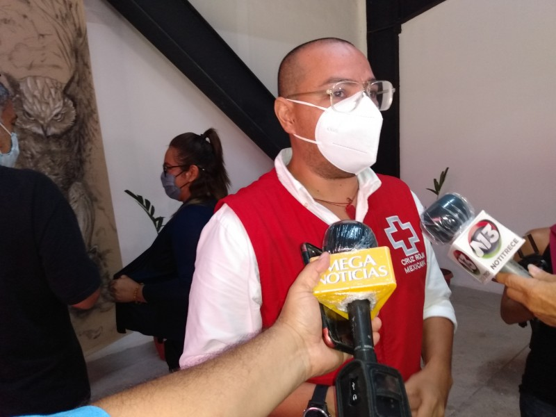 Cruz Roja en Chiapas opera en números rojos