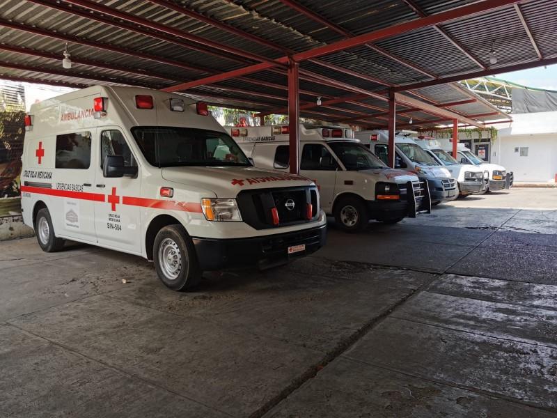Cruz Roja en jaque por pandemia, se disparan traslados covid