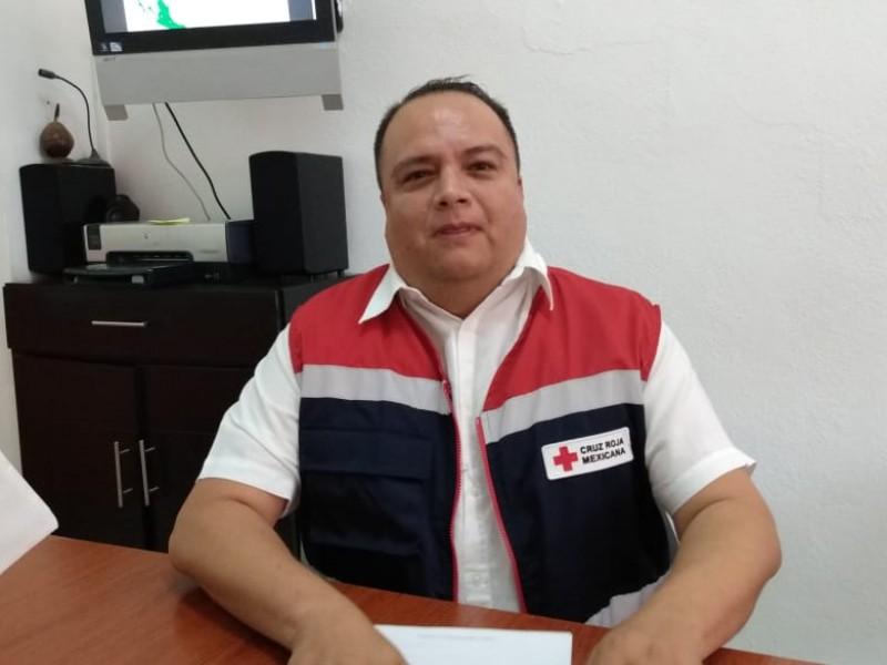Cruz Roja implementa medidas por contingencia Covid-19