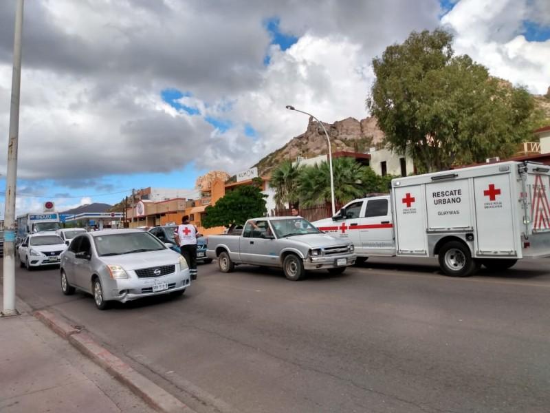 Cruz Roja inicia colecta e invitan a