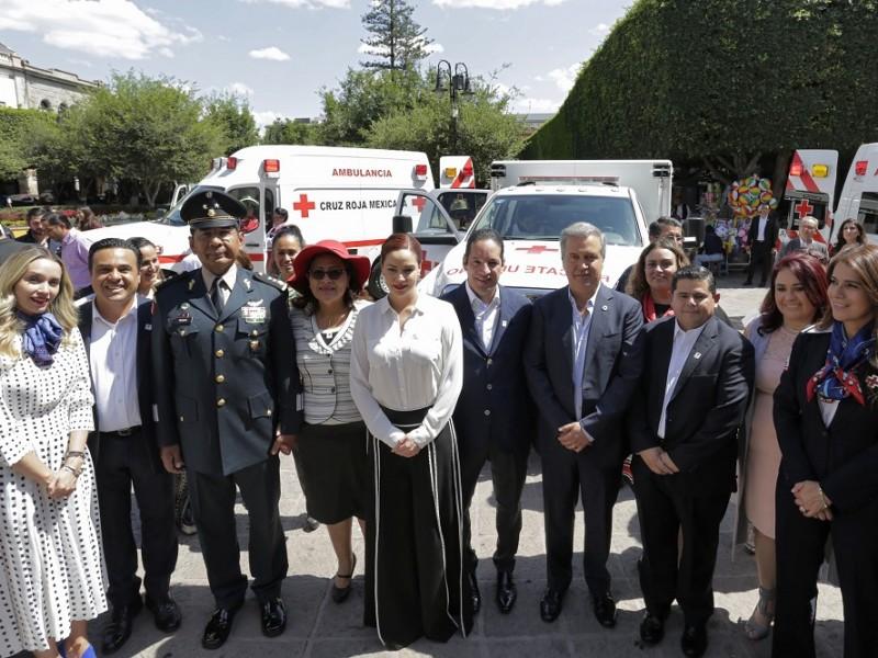 Cruz Roja supera meta en colecta anual