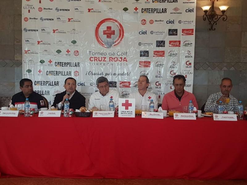 Cruz Roja tendrá torneo a beneficio