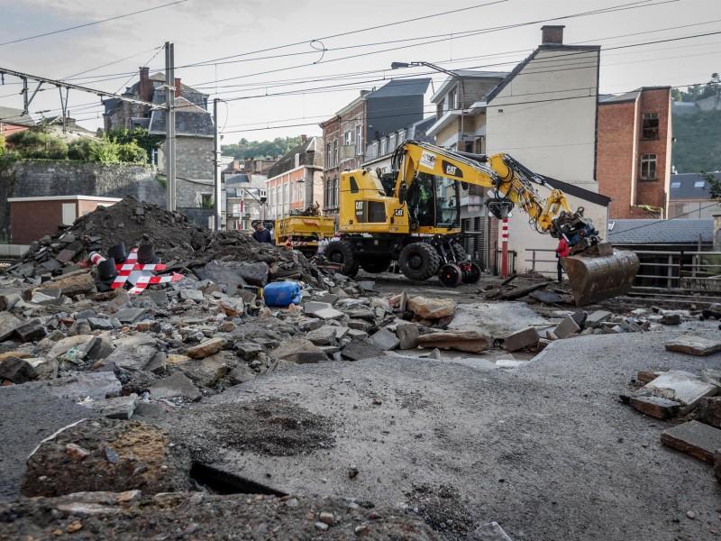 Cuantiosos daños materiales por tormenta en Bélgica