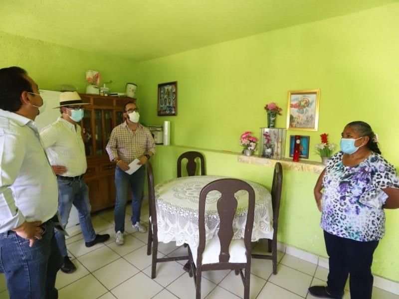 Cuartos adicionales y techos para familias en situación vulnerable
