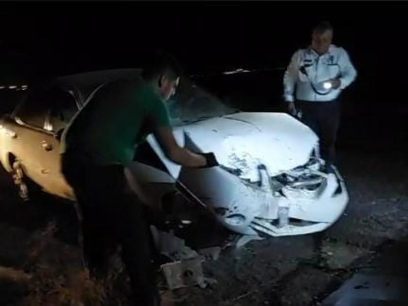 Cuatro accidentes automovilísticos en menos de 24 horas en Guaymas