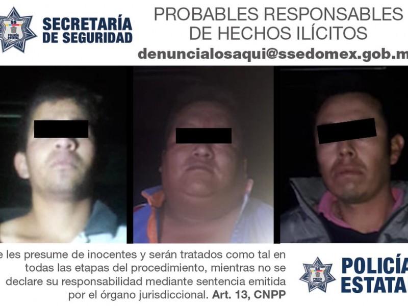 Cuatro detenidos por enfrentamiento con policías en Edomex