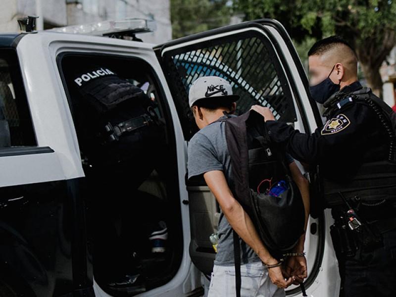 Cuatro detenidos tras cometer ilícitos