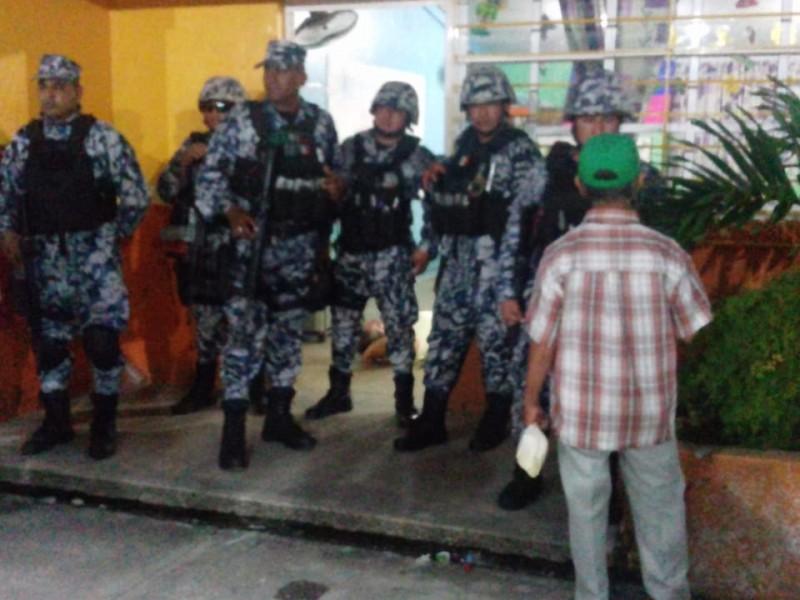 Cuatro heridos de bala en intento de linchamiento