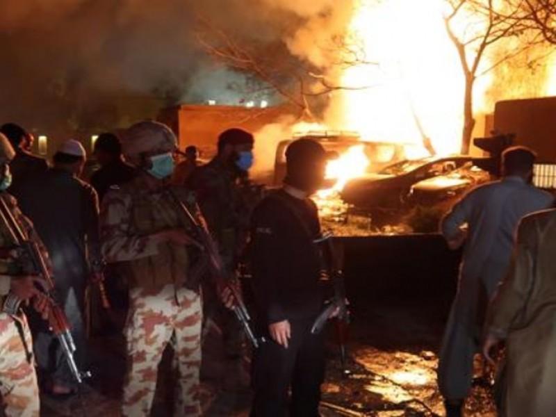 Cuatro muertos tras explosión de bomba en Pakistán
