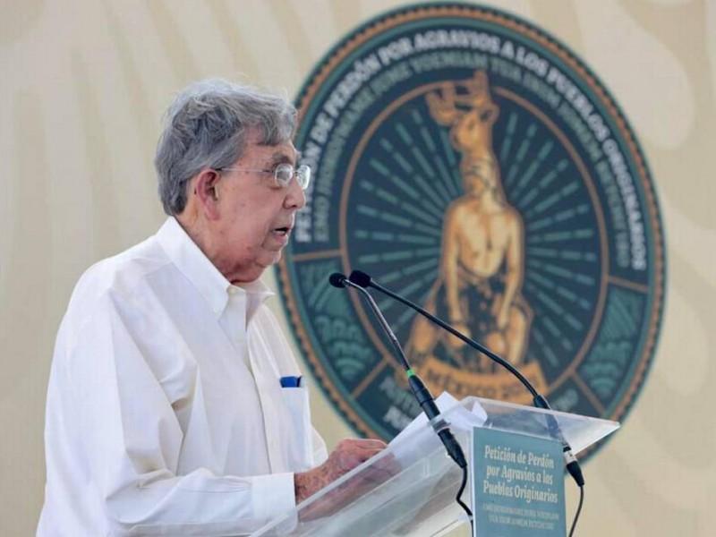 Cuauhtémoc Cárdenas insiste en la cancelación del Acueducto Independencia