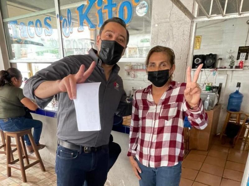Cuauhtémoc Galindo afirma resolverá desabasto de agua en Empalme