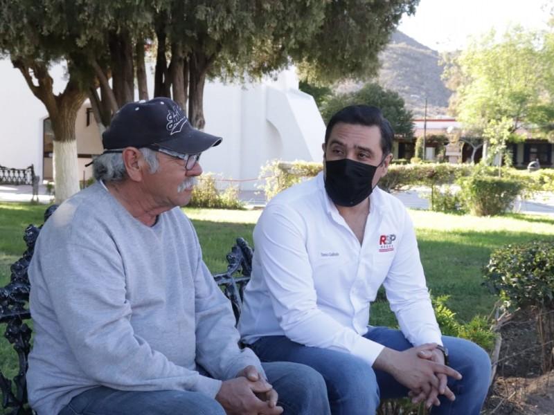 Cuauhtémoc Galindo asegura que combatirá inseguridad en norte de Sonora