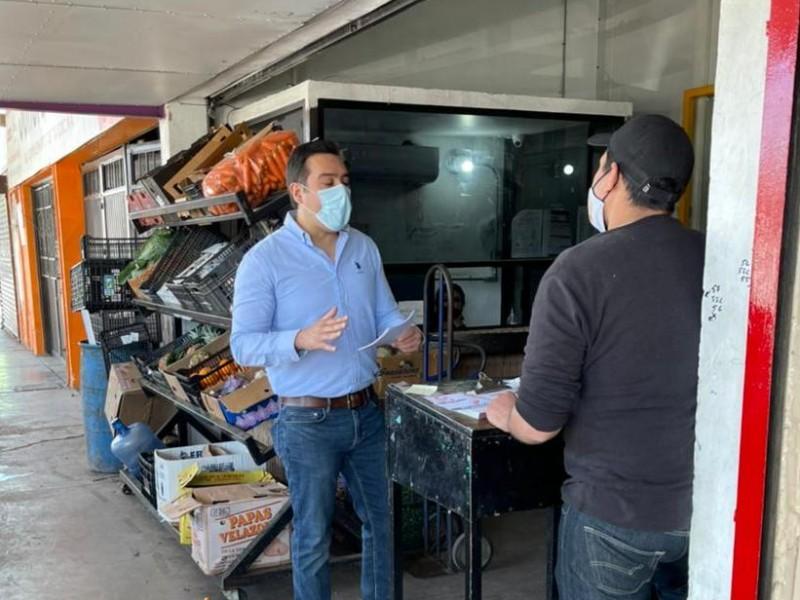 Cuauhtémoc Galindo se compromete apoyar a microempresarios