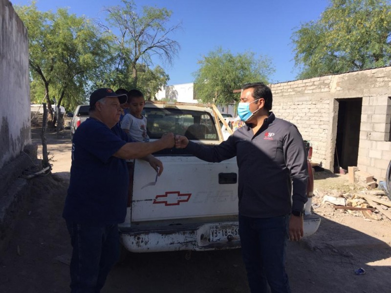 Cuauhtémoc Galindo visita municipios del centro de Sonora