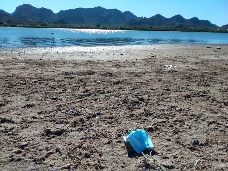Cubrebocas, nuevo contaminante para el medio ambiente