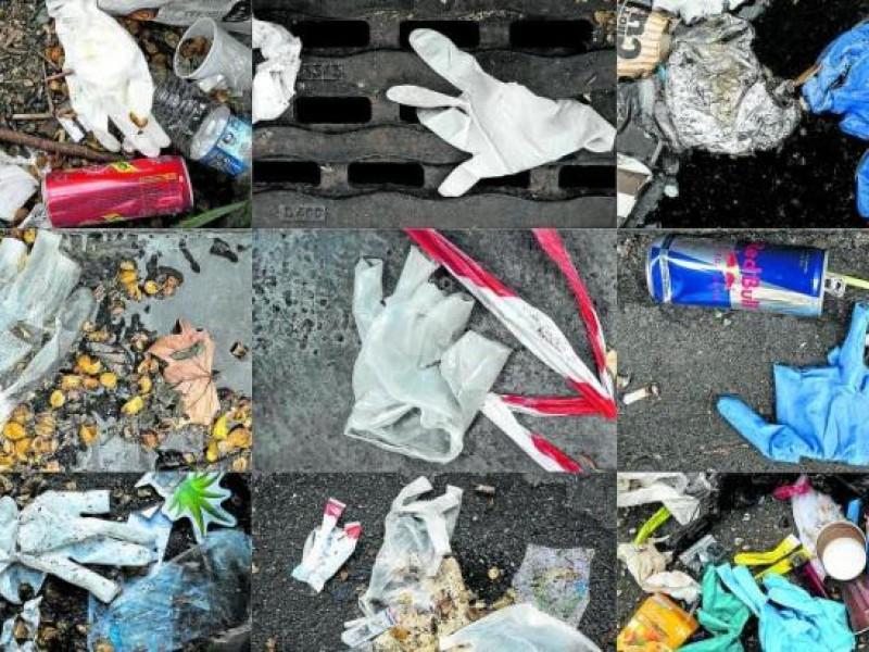 Cubrebocas y guantes deben separarse de la basura común