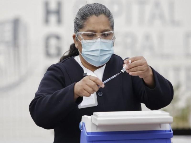 Cuenta Jalisco con el 41% de personal de salud vacunado