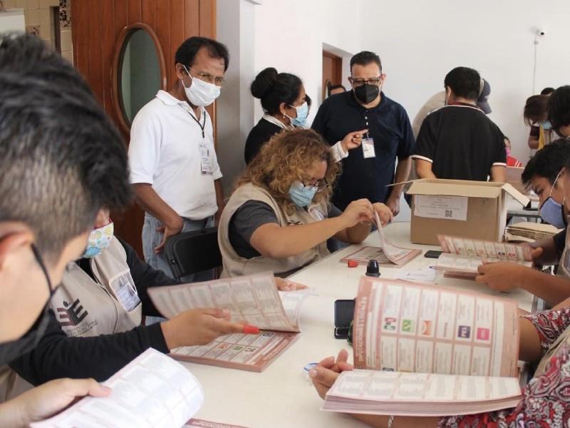 Cuenta regresiva para las elecciones en Oaxaca; un reto logístico