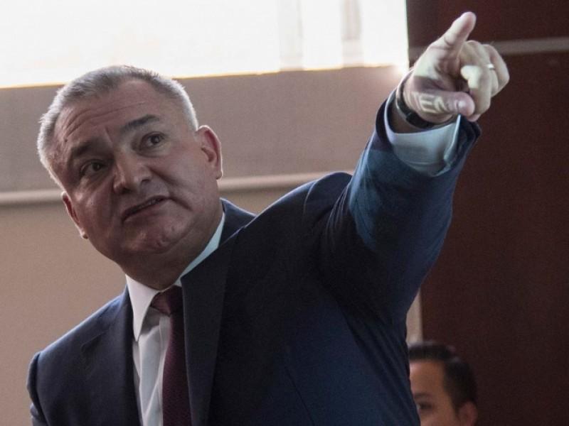 Cuentas de García Luna listas para ser congeladas