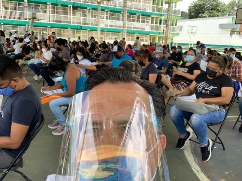 Cuitláhuac García recibió ya la segunda dosis de la vacuna