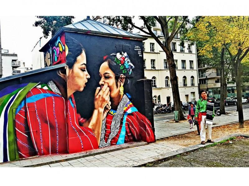 Cultura mexicana Triqui llega a Berlín.