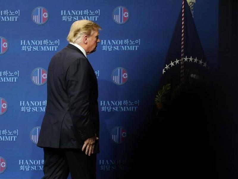 Cumbre entre Trump y Kim termina en fracaso