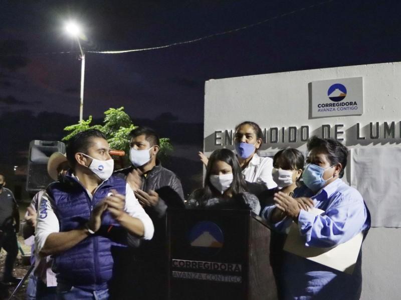 Cumple Roberto Sosa compromiso con Valle Dorado