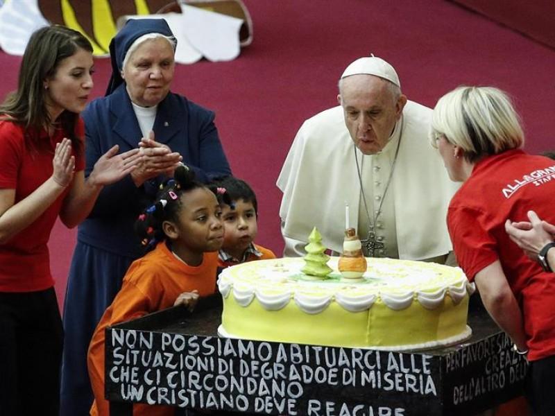 Cumpleaños 82 del Papa Francisco