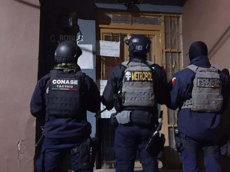 Cumpliendo orden de cateo se realizó detención de un hombre