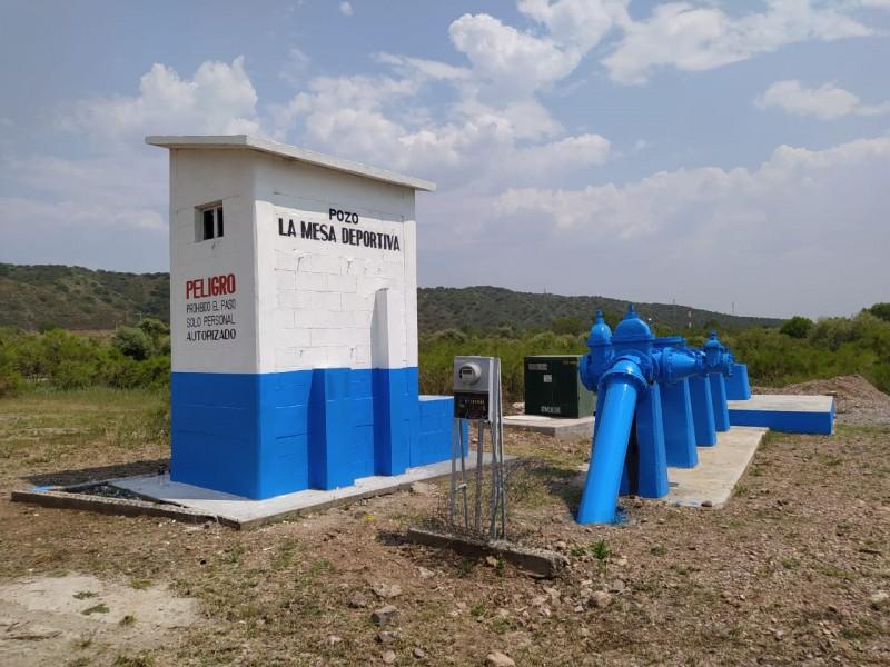 Da OOMAPAS  mantenimiento a pozos y tanques de agua