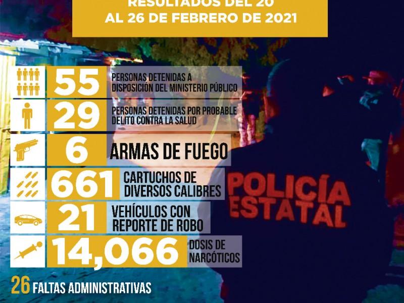 Da PESP otro golpe al delito y narcomenudeo en Sonora