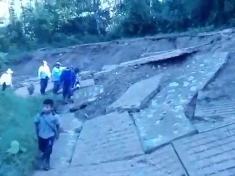 Damnificados de Eta aún no reciben ayuda en Chiapas