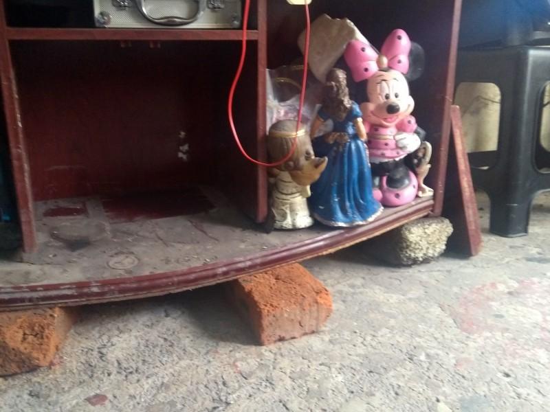 Damnificados pierden todo por desbordamiento del Lerma
